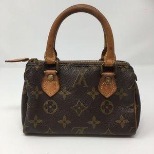 Authentic Louis Vuitton Nano Speedy Mini Bag